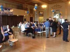 Anne Marie Schubert's election party underway at Elks Ballroom