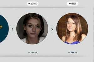 Image on right taken after drug addiction recovery.For more information on drug addiction recovery, go here.