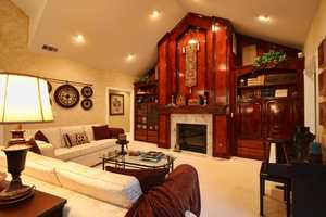 The home is located inside a gated community in Granite Bay.