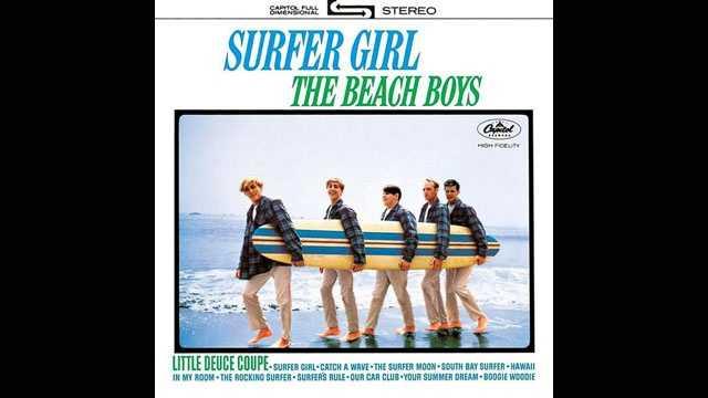 Beach Boys, Surfer Girl album, sized