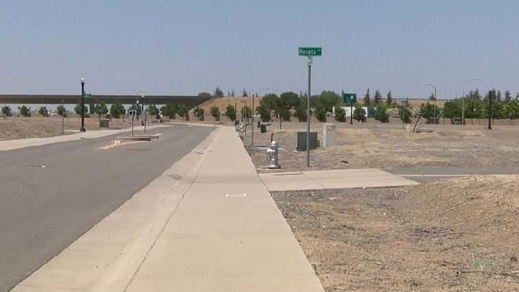 This housing project has been idled since 2008, when the federal government determined the levees surrounding Natomas were unsafe for building.