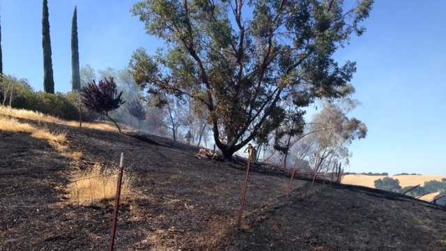 Solano County fire