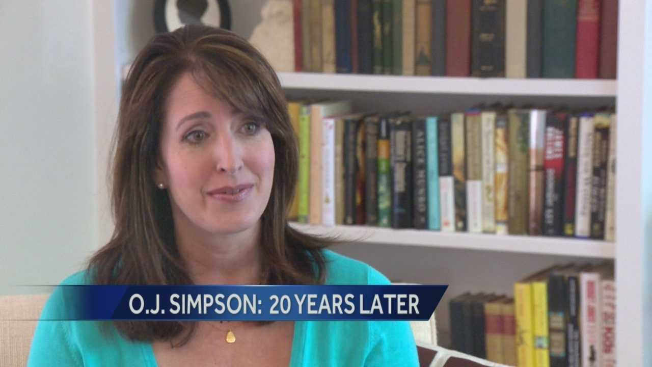 Edie Lambert recalls covering OJ trial 20 years ago