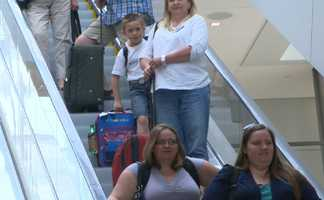 Eight-year-old Jonathan and his family traveled to Sacramento on Wednesday from Missouri for a special Make-A-Wish adventure.