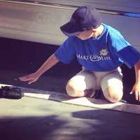 A Missouri boy had his Make-A-Wish dream come true Friday when he conducted a train across Donner Pass. (June 20, 2014)