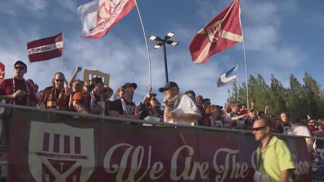 Fans pack new Bonney Field for Sac Republic FC game