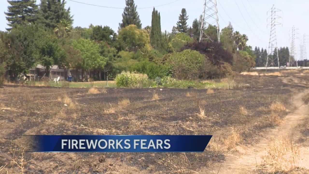 Dry conditions amid a drought have firefighters worried about upcoming 4th of July celebrations.