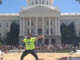 The U.S. Track and Field Championships kick off at the state Capitol on Wednesday with the opening shot put event.