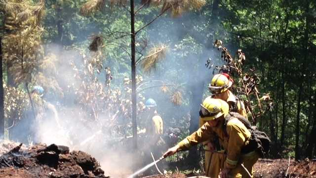 Placer County fire