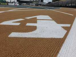 Hornet Stadium has a brand new track for the athletes to show off their skills. (June 26, 2014)
