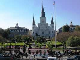 No. 9: New OrleansAverage cost: $1,965.08