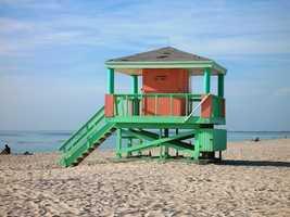No. 13: Miami Beach, Fla.Average cost: $2,465.12