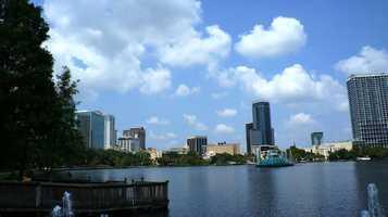 No. 2: Orlando, Fla.Average cost: $1,268.08