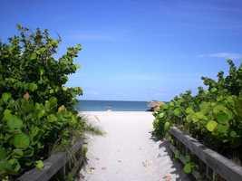 No. 5: Sanibel Island, Fla.Average cost: $1,485.51
