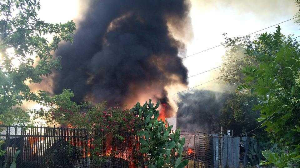 Sacramento fire