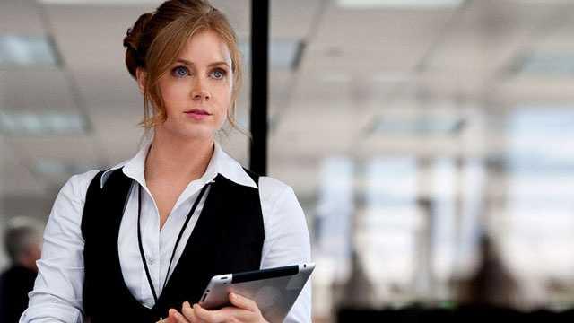 Amy Adams as Lois Lane in Man of Steel
