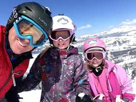 Paying it forward, I started the Granite Bay Ski Club and enjoy coaching my daughters and their friends.