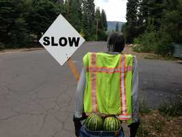 Ada Marier has lived around Lake Tahoe for more than three decades, and has never seen anything like the latest attempt to slow down summer crowds using her neighborhood as a shortcut off Highway 89.