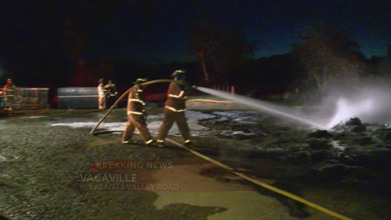 Body found after fire at nursery in Vacaville