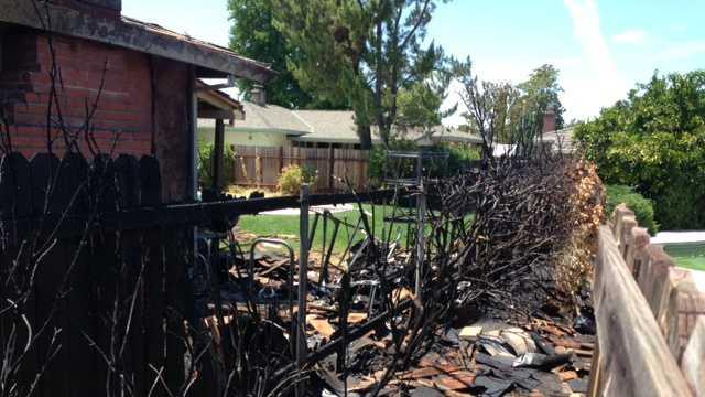 Sacramento urban fires