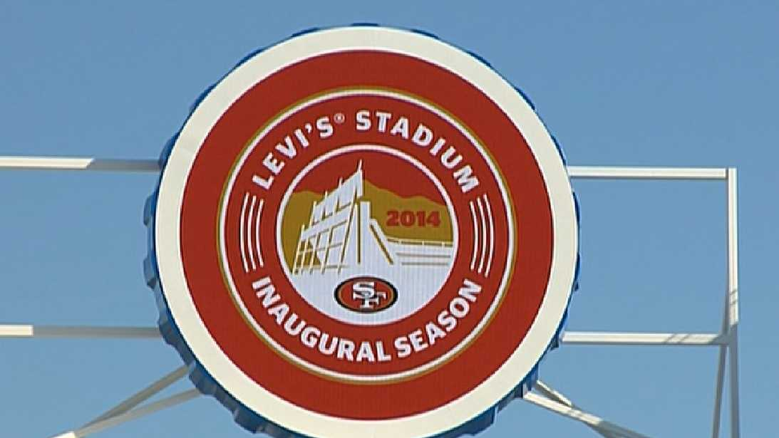Levi's Stadium cost $1.2 billion to build. (July 17, 2014)