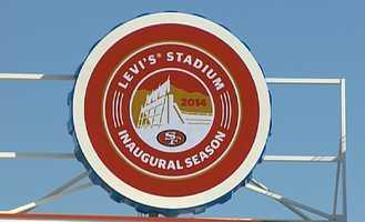 Levi's Stadium cost $1.2 billion to build. (July 17, 2014)