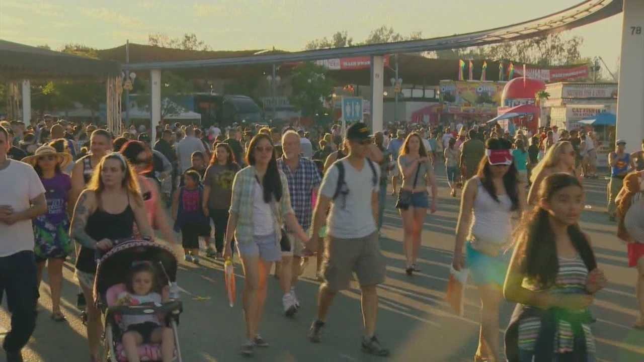 Busy night at State Fair and Cal Expo