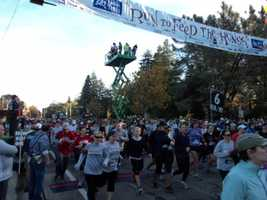 24. The Run to Feed the Hungry is a family tradition for many Sacramento natives. The event was started in 1994 and is held each year on Thanksgiving Day, with more than 28,000 people participating in 2013.