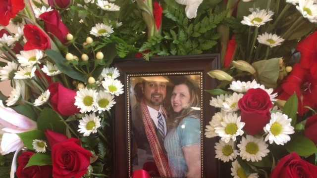 A funeral service and procession were held for Misty Holt-Singh on Monday. (July 28, 2014)