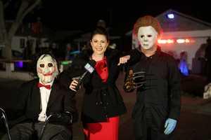 (Halloween on the job!)