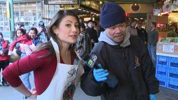 17.) I am NOT an athlete. Hand-eye coordination has never been my thing, which is why it was a big deal when I caught a fish at the famous Pike Place Market in Seattle while covering the 49ers-Seahawks game earlier this year. Editor's note: We even have the video to prove it!