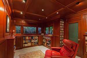 Or, open up a book inside this reading room.
