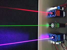 14) Laser -- Theodore Harold Maiman developed the first working laser from a ruby crystal in his Malibu laboratory in May 1960.
