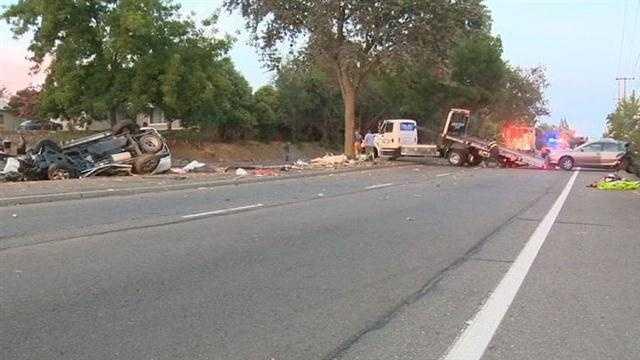 Fair Oaks crash