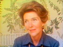 """Sweet and a KCRA 3 reporter sat down with Reagan's wife, Nancy Reagan, as the couple prepared to move to Washington D.C. """"Well, there's a lot of pressure, you know, and for two people who never intended to go into politics,"""" Nancy Reagan said."""
