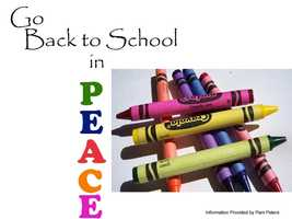 Pam Peters, a certified life coach and parenting expert, has five simple tips for going back to school in peace.