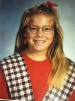 Here's meteorologist Tamara Berg's fifth-grade photo.