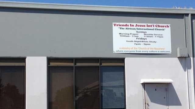 African Church on Elder Creek Road in Sacramento (Aug. 21, 2014)