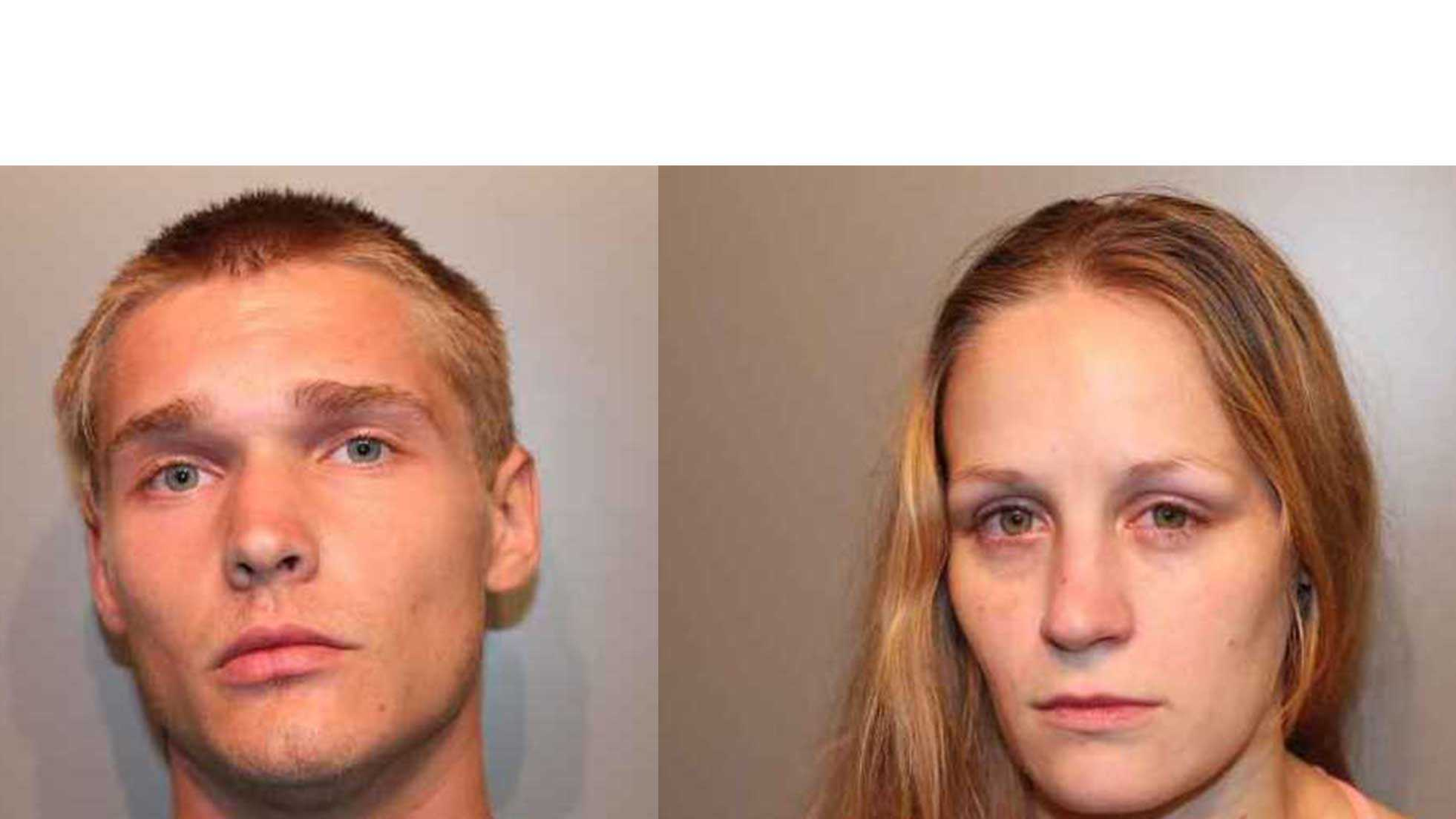 From left: Chance Fidler and Kandice Hadley (Aug. 21, 2014)