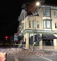 A magnitude-6.0 earthquake struck Sunday near Napa, an oasis of Victorian-era buildings nestled in the vineyard-studded hills of Northern California. (Aug. 25, 2014)