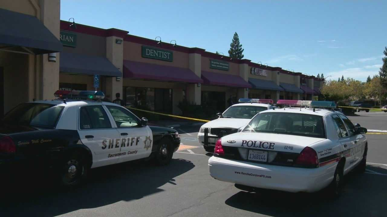 A man stumbled into a Rancho Cordova store after being shot.