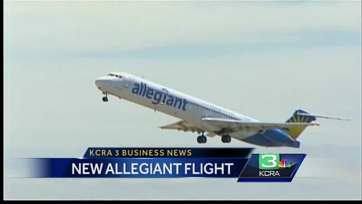 Allegiant Announces Flights From Stockton To San Diego
