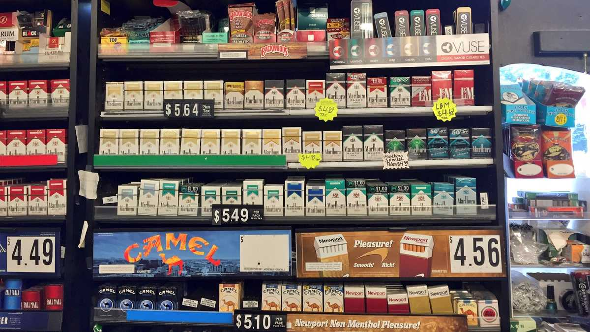 Bill would remove tobacco from convenience, grocery stores