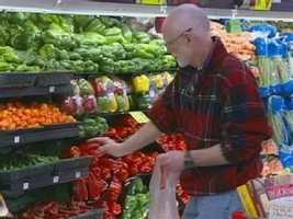 Only 4 percent of shoppers hit the aisles between 9 p.m. and 8 a.m. Wednesday is the least crowded day of the week.