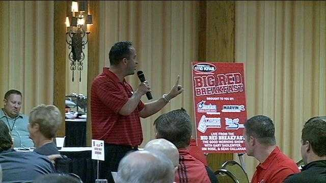Coach lashes out at Husker fan