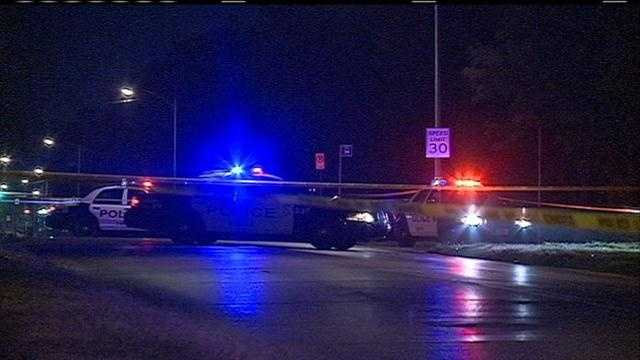 img-Man dead after officer-involved shooting