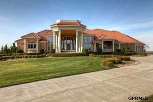 This $1.7 million estate sits on 10 acres on North 216th Street in Elkhorn. See original listing on REALTOR.com.