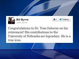 Bill Byrne, retired director of athletics, Texas A&M