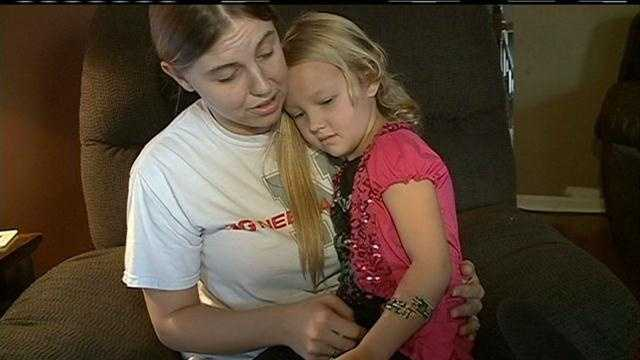 Dog quarantined after biting 4-year-old girl