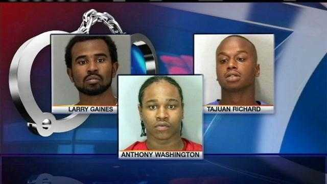 Three men wanted for attacking woman this spring